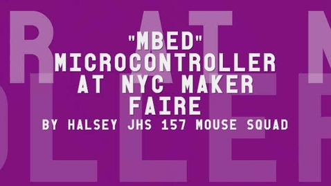Thumbnail for entry Maker Faire Interviews: Simon from Mbed Microcontroller
