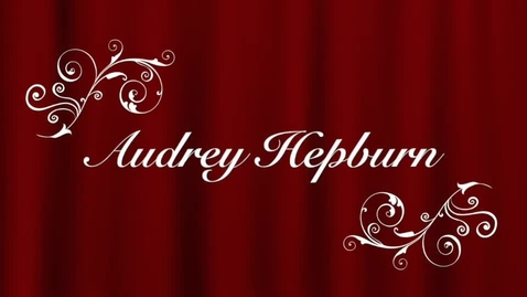 Thumbnail for entry Audrey Hepburn by Isabel