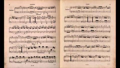 Thumbnail for entry Mozart - Sonata for Piano 4 hands in C major, K.521 (1787) {Haebler&Hoffmann}