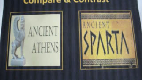 Thumbnail for entry Athens and Sparta Compare and Contrast