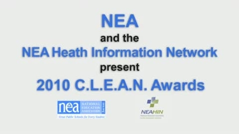 Thumbnail for entry 2010 C.L.E.A.N. Awards