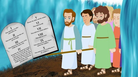 Thumbnail for entry Moses and the 10 Commandments