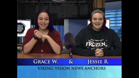 Thumbnail for entry VikingVisionNews 3-4-2020 #589