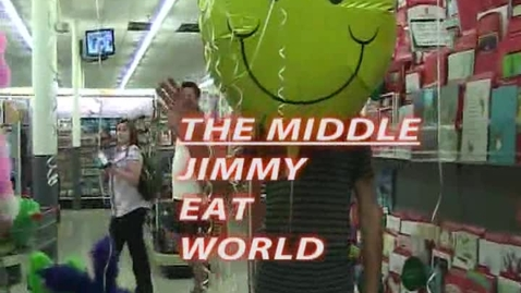 Thumbnail for entry The Middle - Jimmy Eat World