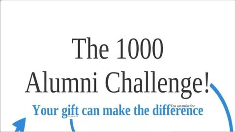 Thumbnail for entry VES 1000 Alumni Challenge