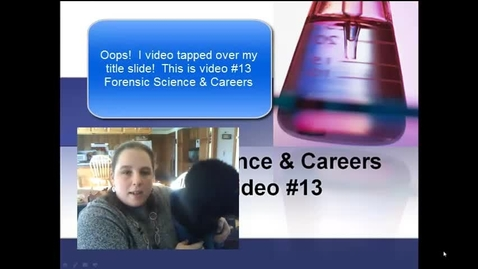 Thumbnail for entry Burke Video 13 Forensics