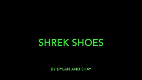 Thumbnail for entry Shrek Shoes