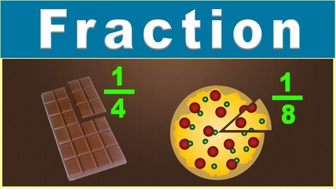Thumbnail for entry What is Fraction? | Introduction to Fractions | Math | LetsTute