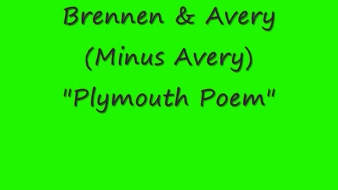 Thumbnail for entry Plymouth Poem
