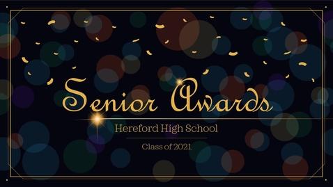 Thumbnail for entry Senior Awards Presentation (2021)