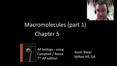 Thumbnail for entry Macromolecules (part 1)