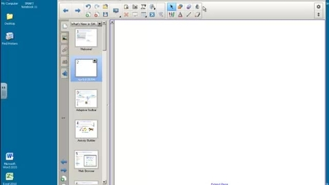 Thumbnail for entry Smart Notebook11 - 5. Tools
