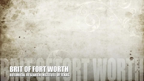 Thumbnail for entry BRIT of Fort Worth: A Virtual Tour