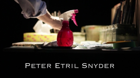 Thumbnail for entry Peter Etril Snyder the Painter