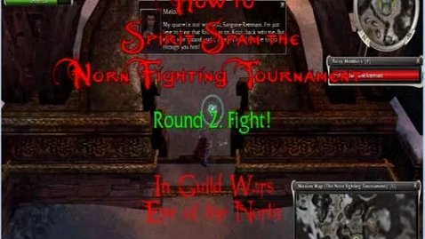 Thumbnail for entry How To Farm the Norn Fighting Tournament (JB)