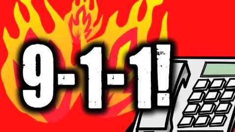 Thumbnail for entry 911!  (fire safety song for kids)