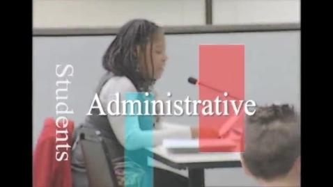 Thumbnail for entry SLPS SAB Board Meeting Recognizes Althea Albert-Santiago