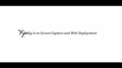 Thumbnail for entry LISD screen capture and web deployment