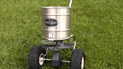 Thumbnail for entry How To Calibrate A Rotary Spreader
