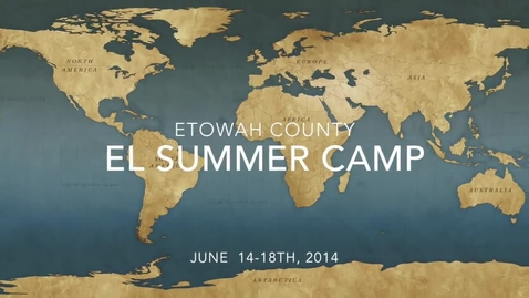 Thumbnail for entry EL Summer Camp Informative Video