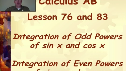 Thumbnail for entry Lynch - AP Calculus AB: Lesson 76 / 83