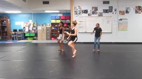 Thumbnail for entry 3rd Period 6th grade Rhythm Name Dances 10-20-16 group SL SR JM