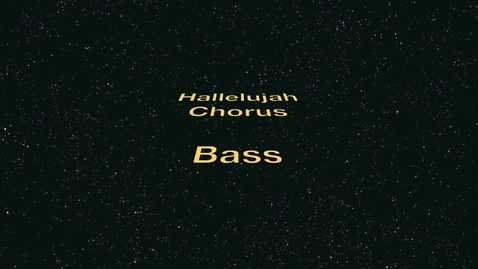 Thumbnail for entry Bass Hallelujah Chorus
