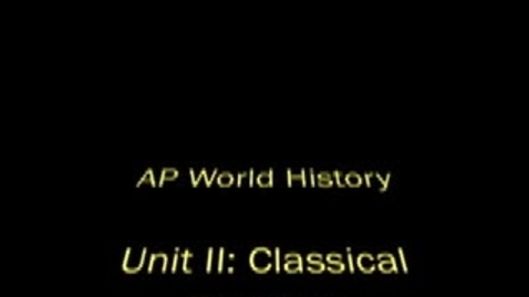 Thumbnail for entry WHAP Unit II Review Video