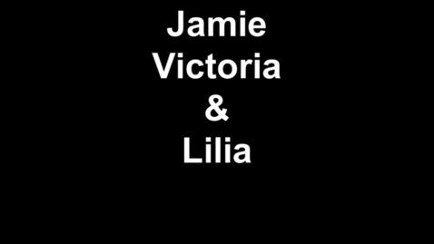 Thumbnail for entry Jamie Victoria & Lilia
