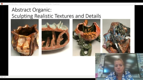 Thumbnail for entry Abstract Organic sculpting realistic textures and details