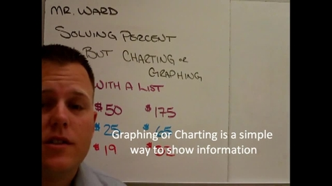 Thumbnail for entry Graphing and Charting Percent