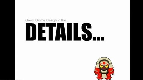 Thumbnail for entry Game Design Details