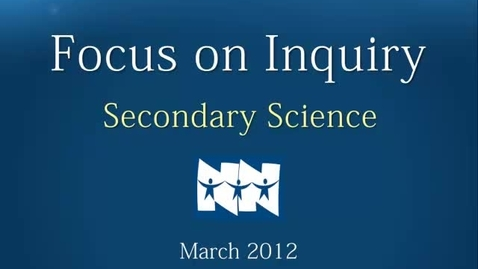 Thumbnail for entry March Inquiry Focus
