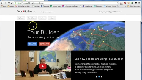 Thumbnail for entry Making a Google Tour Link