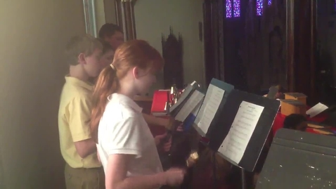 Thumbnail for entry Christmas Eve Service Rehearsal #1
