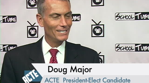 Thumbnail for entry Doug Major ACTE President-Elect at National Convention