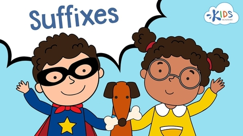 Thumbnail for entry Suffixes ful, less, ly, able | English Grammar for Grade 2 | Kids Academy