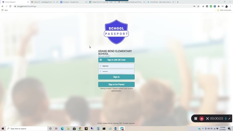 Thumbnail for entry Using SchoolTube within School Passport Demo