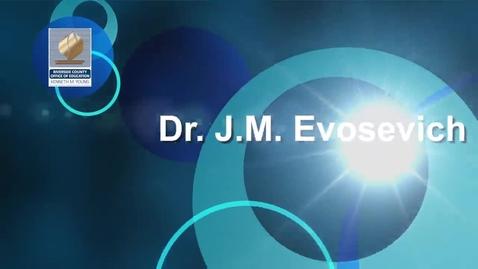 Thumbnail for entry Celebrating Educators 2014:  J.M. Evosevich