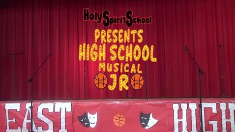 Thumbnail for entry High School Musical Jr 10AM Show