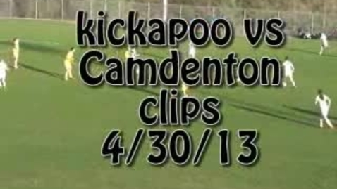 Thumbnail for entry Camdenton vs. Kickapoo soccer clips