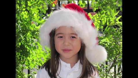 Thumbnail for entry Class of 2021-  Santa Hats - PreK