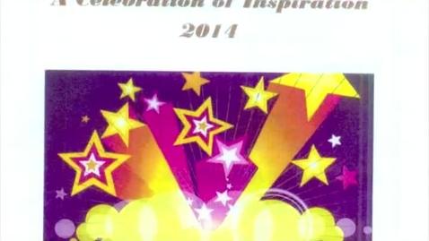 Thumbnail for entry 2014 Celebration Of Inspiration