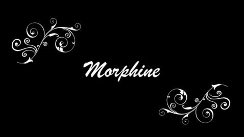 Thumbnail for entry How to Kill a Mockingbird: Morphine Addiction