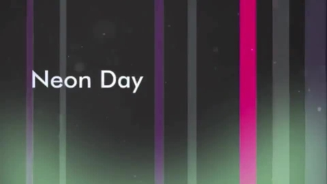 Thumbnail for entry Neon Spirit Day - Video Yearbook - Produced by Kelsey - Attucks Middle School