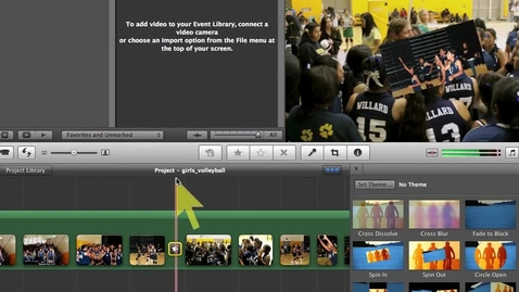 Thumbnail for entry Imovie 11- Sharing or Exporting Projects