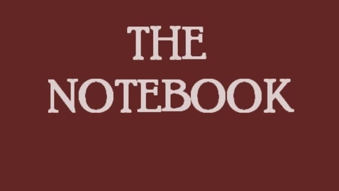 Thumbnail for entry Stop Action Video The notebook