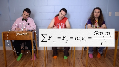 Thumbnail for entry AP Physics 1: Universal Gravitation Review