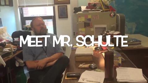 Thumbnail for entry Schulte experiences last Spring Break as a teacher