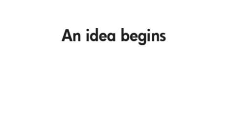 Thumbnail for entry An Idea Begins